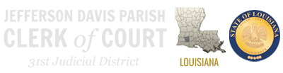 Jefferson Davis Parish Clerk of Court Logo